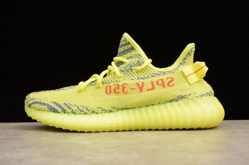 frozen yellow yeezy boost adidas