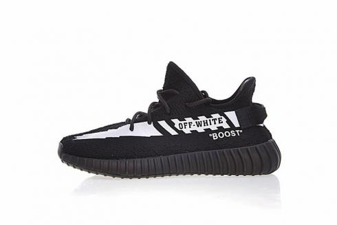 Off White x Adidas Yeezy Boost 350 V2 White Black CP9652