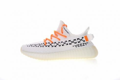 info for 9fe19 80877 Off White x Adidas Yeezy Boost 350 V2 White Black CP9654