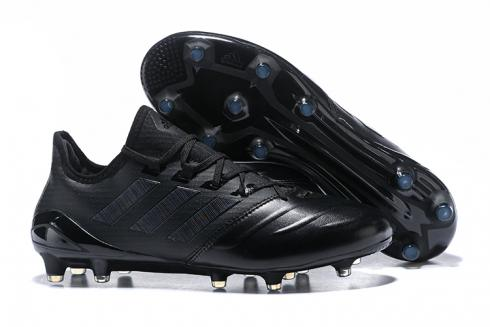 Adidas ACE 17 Purecontrol FG Leather Black All Hot