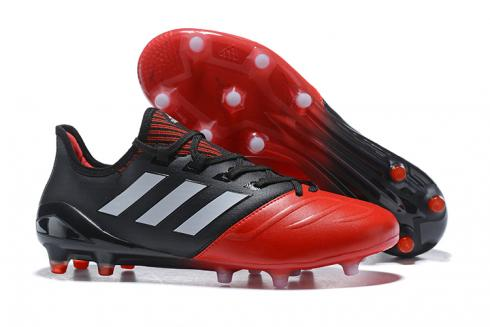 Adidas ACE 17 Purecontrol FG Leather Red Black Grey