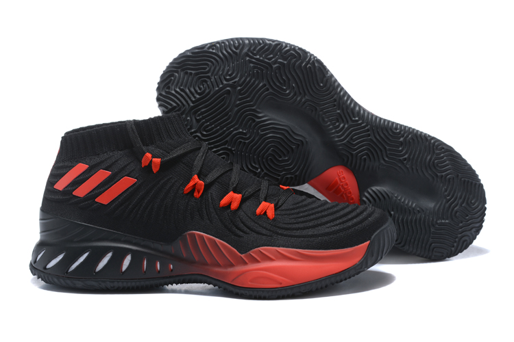Adidas CRAZY EXPLOSIVE LOW 2017 PK Black Red BY4470 - Yezshoes