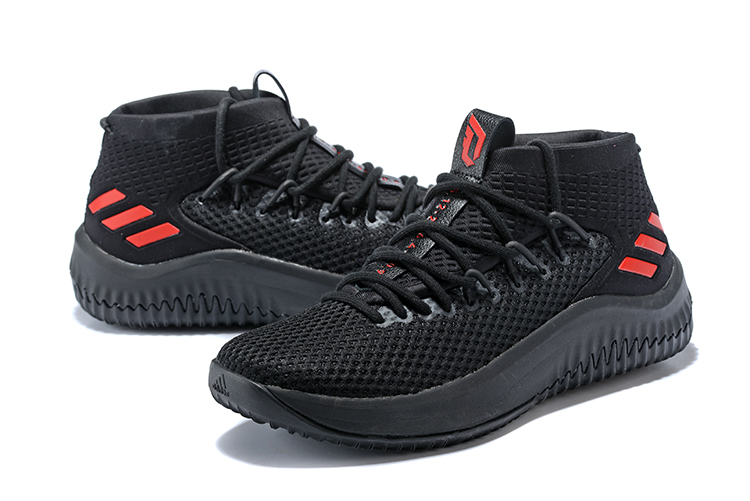 adidas Dame 4 Blackout 1 WearTesters
