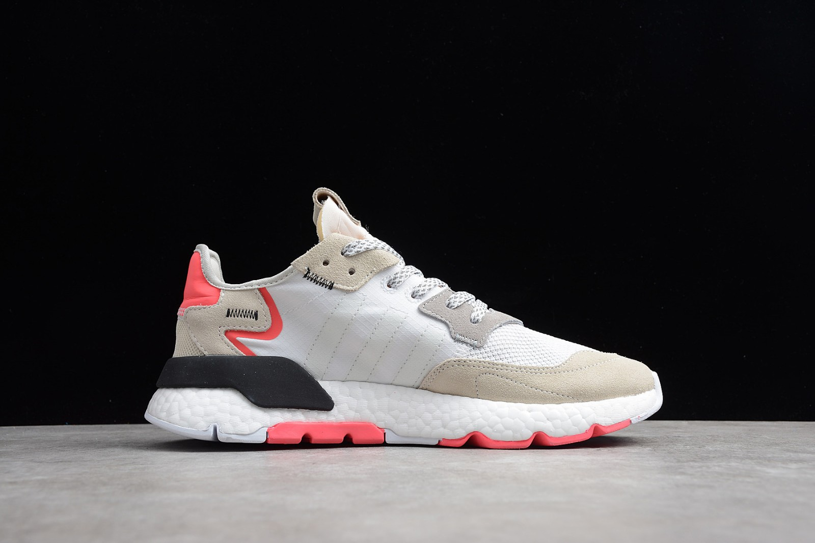 Adidas Nite Jogger 2019 Boost 3M White Red Grey F34123