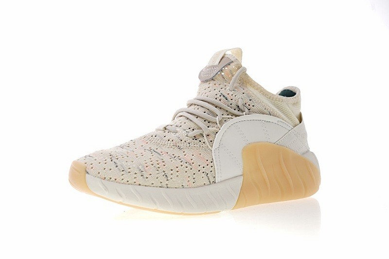 adidas originals tubular rise sneakers in beige cq1378