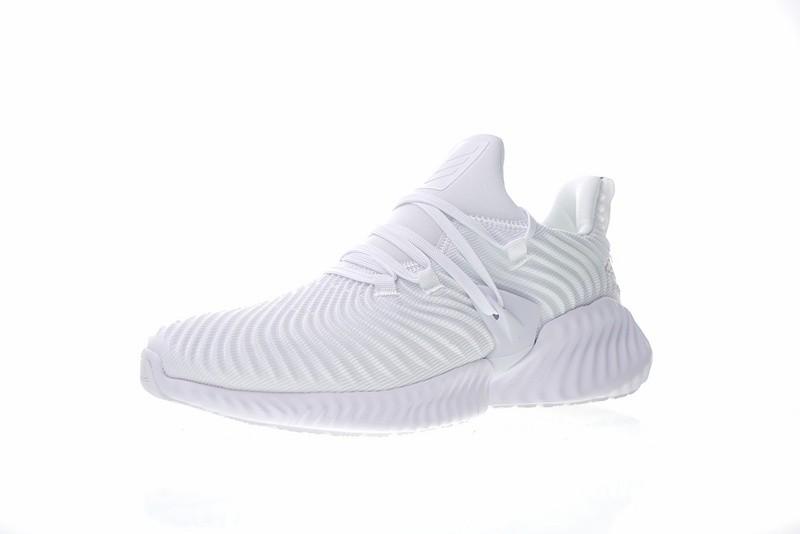 adidas alphabounce all white