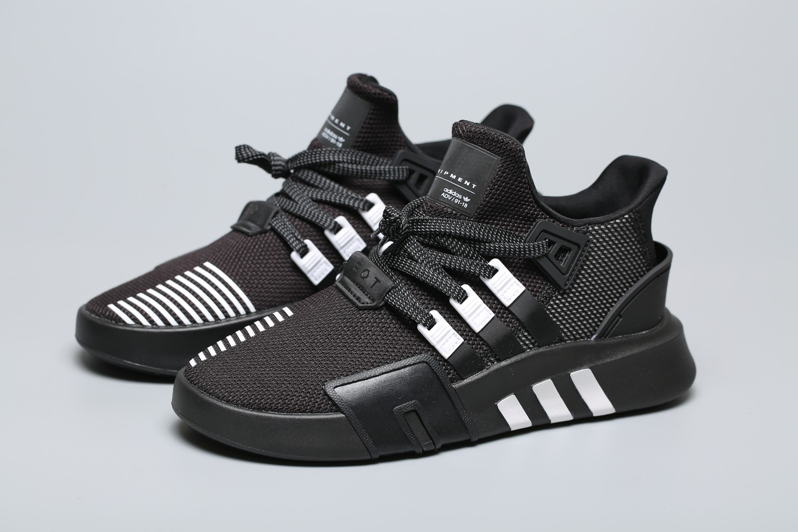 Adidas Originals EQT Bask ADV Black White Men Running Sneaker BD7773