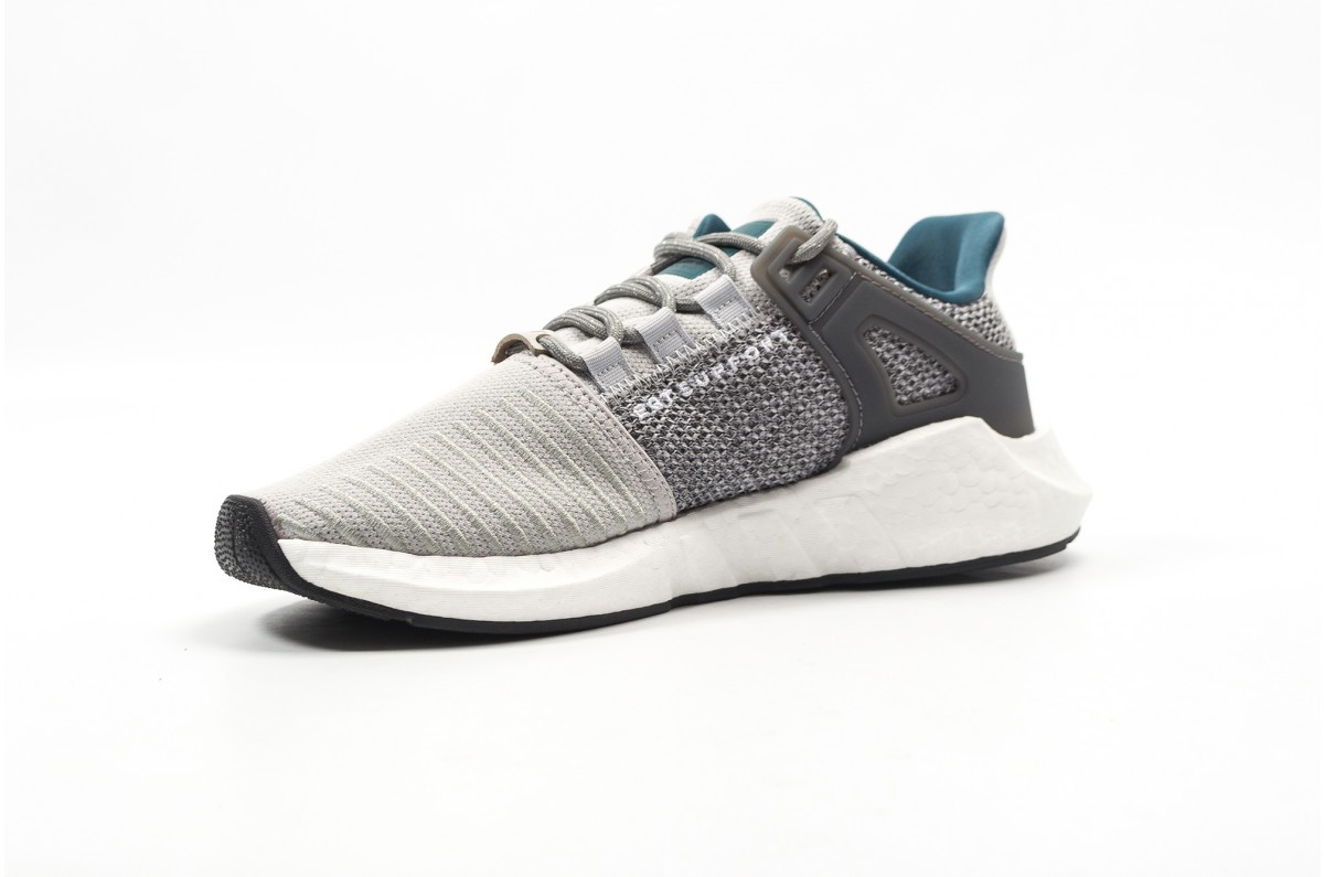 super popular 5d19c f1a60 Adidas EQT Support 93 17 Grey Teal White Boost Athletic Sneakers CQ2395
