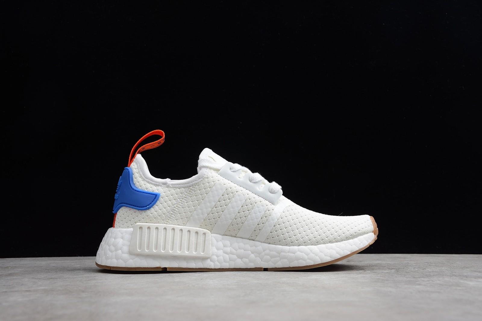 Adidas Nmd R1 Boost White Blue Gum Bb9498 Yezshoes