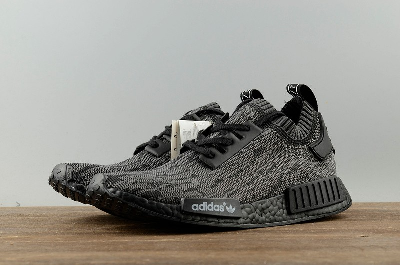 Adidas NMD R1 Friends And Family Pitch Black S80489 - Yezshoes