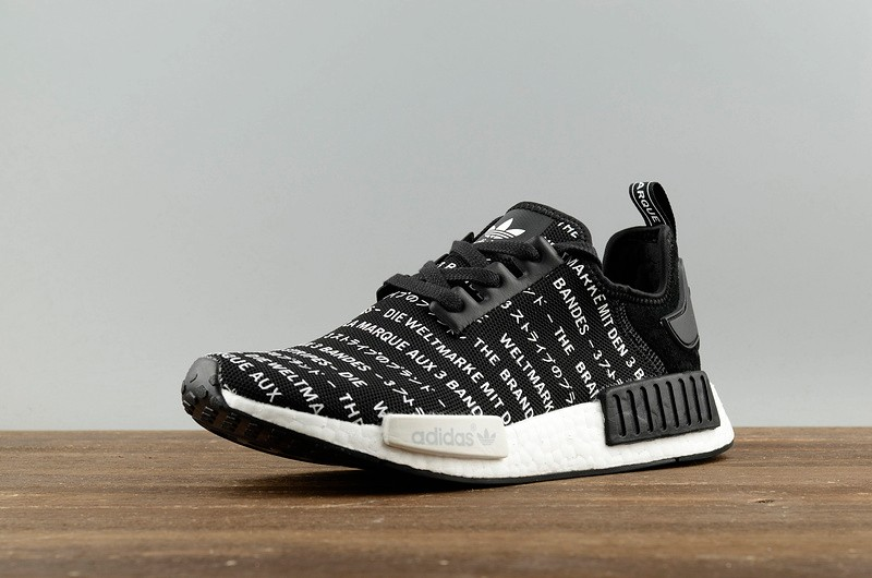 Adidas NMD R1 Runner Casual Shoes Japanese Black White S79519