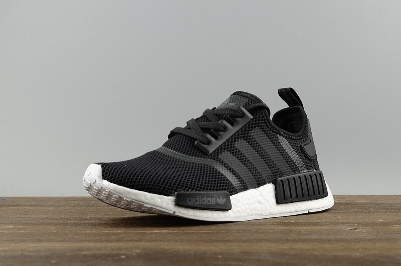on sale b1d7d 0419e Adidas NMD R1 Runner Monogram Black White S79165