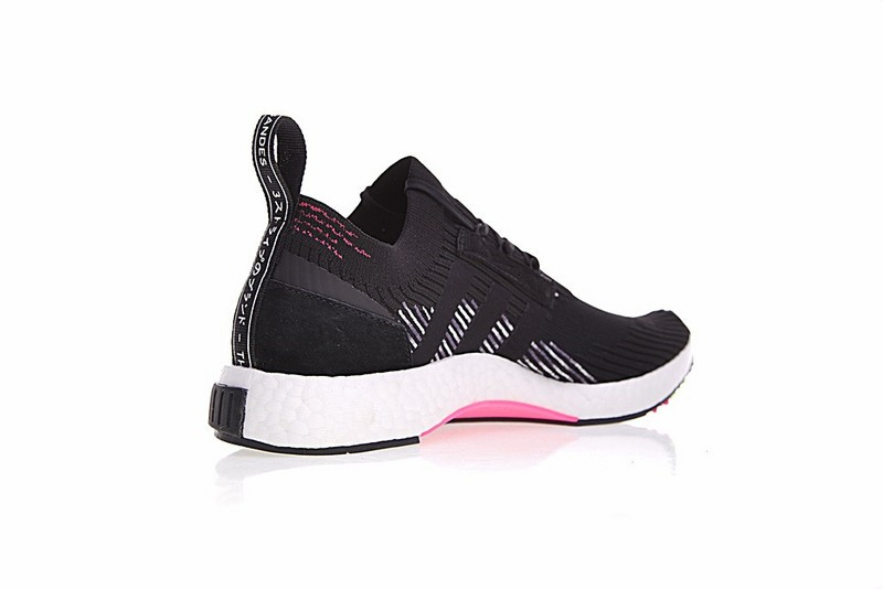 Adidas NMD Racer Primeknit in Core Black Pink CQ2441