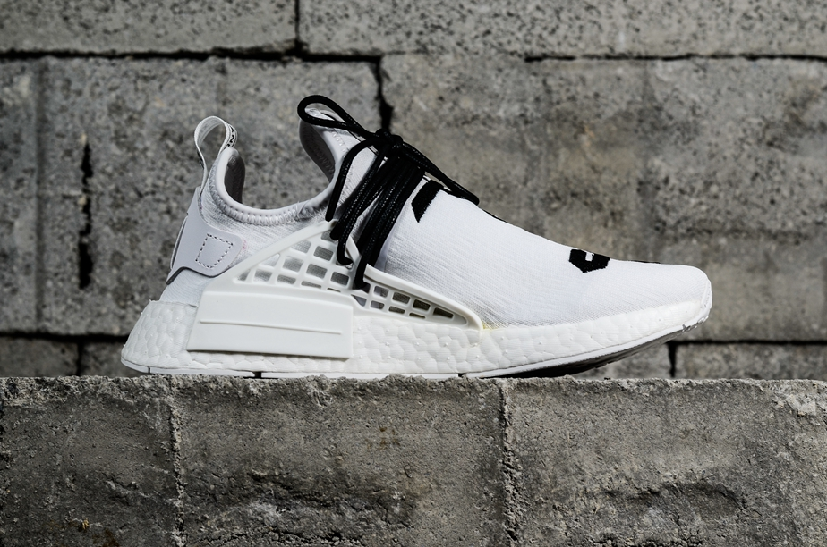 various colors 6acee 6a3fa Adidas PW Human Race NMD Fear Of God White