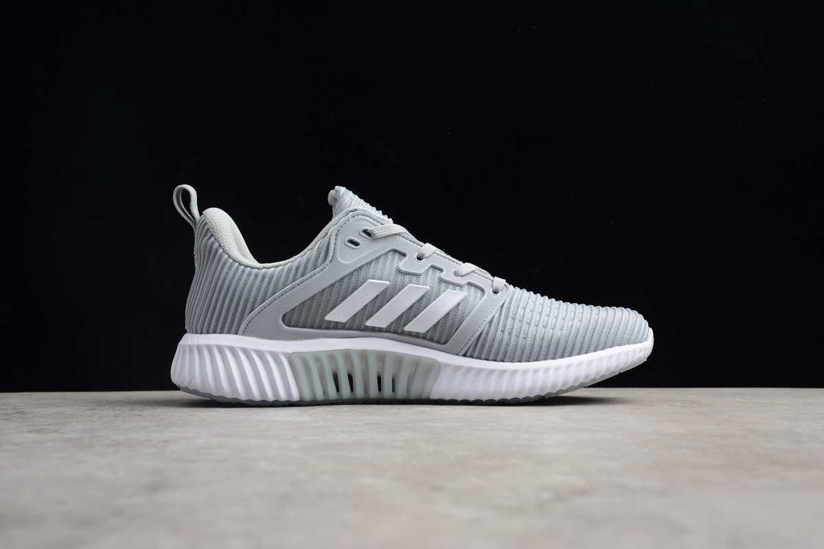 Adidas Climacool CM Grey White Breeze Mesh Breathable Running Shoes S80715