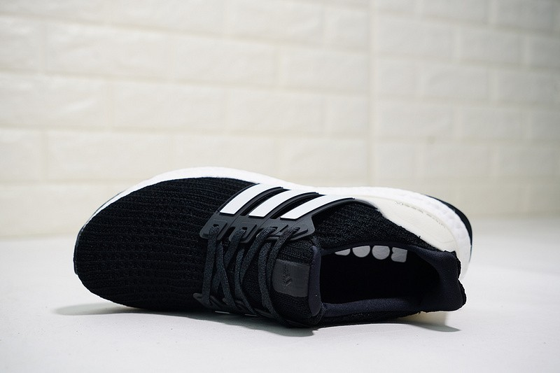 Adidas Ultra Boost 4.0 Show Your Stripes Core Black Cloud White Carbon AQ0062